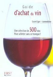 Le Petit Livre De Cuisine ; Guide D'Achat Du Vin (Edition 2004) - Intérieur - Format classique