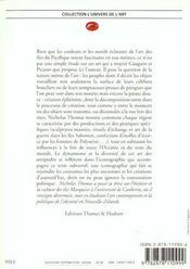 L'art de l'Océanie - 4ème de couverture - Format classique