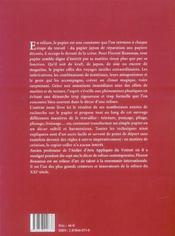 Reliure ; les décors en papier - 4ème de couverture - Format classique