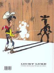 Lucky Luke t.40 ; le grand duc - 4ème de couverture - Format classique