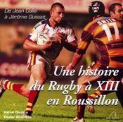 Une histoire du rugby à XIII en roussillon - Intérieur - Format classique
