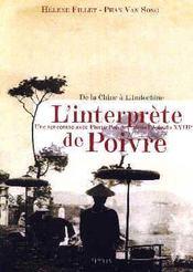 L'Interprete De Poivre - Intérieur - Format classique
