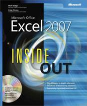 Vente livre :  Microsoft Office Excel 2007 Inside Out  - John Pierce