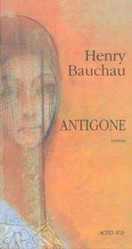Antigone. roman - Intérieur - Format classique