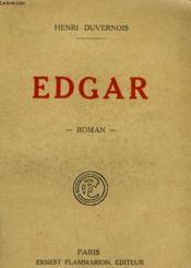 Edgar. - Couverture - Format classique