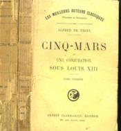 Cinq - Mars Ou Une Conjuration Sous Louis Xiii. En 2 Tomes. - Couverture - Format classique