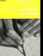 La Pratique Du Francais - Couverture - Format classique
