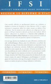 Soins Infirmiers En Maternite Et Aux Personnes Atteintes D'Affections Gynecologiques - 4ème de couverture - Format classique