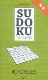 Sudoku du mois de septembre - Couverture - Format classique