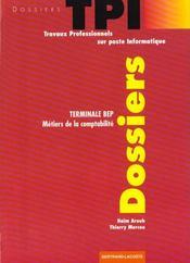 Dossiers Tpi Ter Bep Comptabilite - Intérieur - Format classique