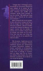 Le Voyage De Jabel - 4ème de couverture - Format classique