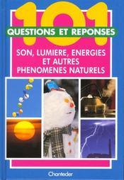101 Questions Et Reponses; Son Lumiere Energie Et Autres - Intérieur - Format classique