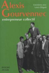 Alexis Gourvennec - Couverture - Format classique