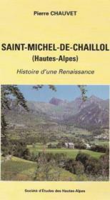 Saint michel de chaillol - Couverture - Format classique