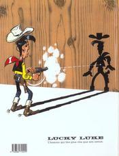 Lucky Luke t.43 ; le cavalier blanc - 4ème de couverture - Format classique