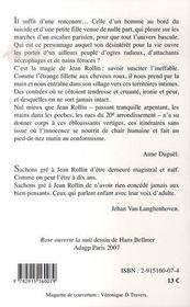 La Petite Ogresse - 4ème de couverture - Format classique