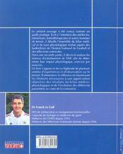 Tests et exercices en football ; suivi médical et physiologique - 4ème de couverture - Format classique