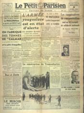 Petit Parisien Edition De Paris (Le) du 06/04/1941 - Couverture - Format classique
