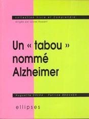 Un Tabou Nomme Alzheimer - Intérieur - Format classique