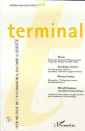 Terminal T.65 - Couverture - Format classique