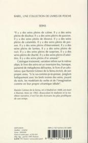 Seins (Ne) Babel 136 - 4ème de couverture - Format classique