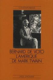 L'Amérique de Mark Twain - Couverture - Format classique