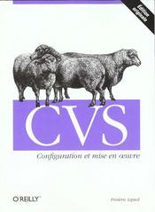 Cvs : Configuration Et Mise En Oeuvre - Intérieur - Format classique