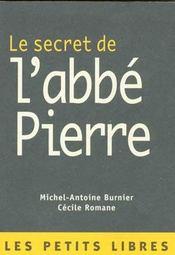 Le Secret De L'Abbe Pierre - Intérieur - Format classique