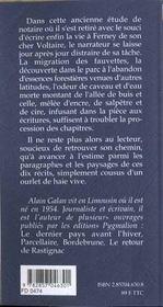 Feu De Feuilles - 4ème de couverture - Format classique