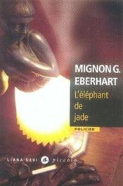 L'éléphant de jade - Couverture - Format classique