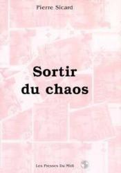 Sortir Du Chaos - Couverture - Format classique