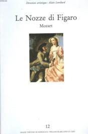 Le Nozze Di Figaro - Couverture - Format classique