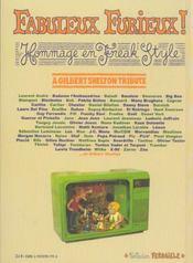 Fabuleux furieux ! hommage en freak style ; a Gilbert Shelton tribute - 4ème de couverture - Format classique