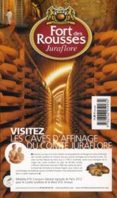 Guide Petit Fute ; Thematiques ; La Route Des Fromages (Edition 2013) - 4ème de couverture - Format classique