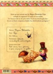 De concert avec la nature ; carnet de curiosités de Magnus Philodolphe Pépin - 4ème de couverture - Format classique