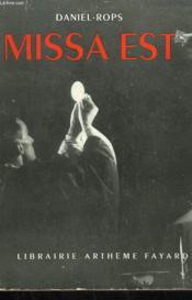 Missa Est. - Couverture - Format classique