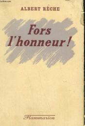 Fors L'Honneur ! - Couverture - Format classique