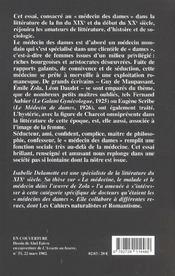 Medecin Des Dames - 4ème de couverture - Format classique