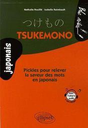 Tsukemono Pickles Pour Relever La Saveur Des Mots En Japonais - Intérieur - Format classique