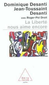 La Liberte Nous Aime Encore - Intérieur - Format classique