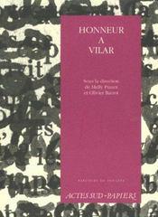 Honneur a vilar - Intérieur - Format classique
