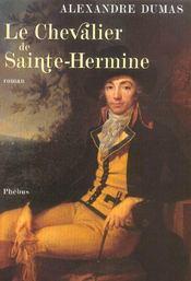 Le chevalier de Sainte-Hermine - Intérieur - Format classique