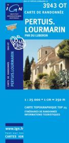 Loumarin ; Pertuis ; PNR du Luberon ; 3243 OT - Couverture - Format classique