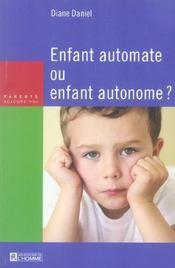 Enfant Automate Ou Enfant Autonome? - Intérieur - Format classique