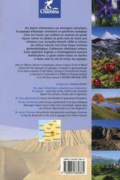 Paysages Et Milieux Naturels En Auvergne Decouverte Du Patrimoine - 4ème de couverture - Format classique