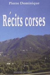 Récits corses - Couverture - Format classique