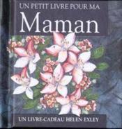 Un petit livre pour ma maman - Couverture - Format classique
