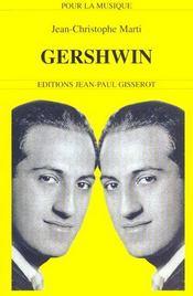 Gershwin - Intérieur - Format classique