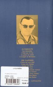 La quimèra ; coffret - 4ème de couverture - Format classique