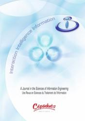Vente livre :  Interaction, intelligence, information t.9  - Collectif